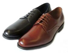 NEW *DELLI ALDO* MENS LACE UP OXFORDS WING TIP LEATHERLINED DRESS SHOES/2 COLORS