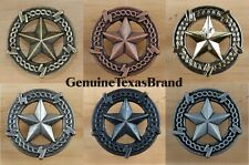 Barbed Wire Lone Star Drawer Pull Cabinet Knob Western Southwest Rustic Texas