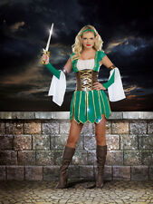 Adult Women Warrior Elf Halloween Costume Cosplay Halloween Outfit Dreamgirl