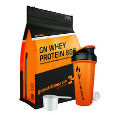 Whey Protein Muscle Gain Shake - GoNutrition -2.5kg - Free Scoop + Shaker
