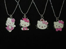 Kids' & Girls' Cute Hello Kitty Necklace Great for Party or Present in 4 Designs