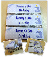Personalised KitKat Chocolate Birthday Party Favours - Wrappers or Pre-made! N2
