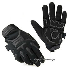 Mens Special Forces Tactical Full-Fingers Work Gloves Racing Motorcycle Gloves