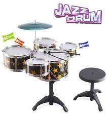Rock Star Drum Set Kids Big Band Drum Kit Toy Childrens Drum Set Xmas Children