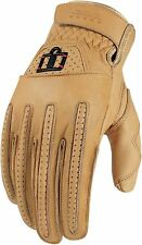 *Fast Shipping* ICON 1000 Rimfire Glove (Tan) Motorcycle Gloves