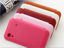 Leather Flip Back Battery Case Cover For SAMSUNG GALAXY ACE S5830 & GT-S5839i
