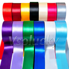 "1 Roll 25 Yards 2"" (50mm) Satin Ribbon Bow Wedding Party Xmas Craft Decoration"