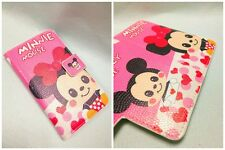 Mickey Wendy as Minnie mouse Leather Flip Case Cover For Huawei MOBILE PHONE