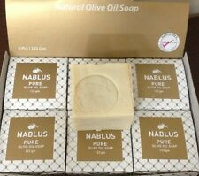 TRADITIONAL PURE OLIVE OIL SOAP 1X125 Gram, From Nablus