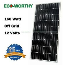 160W 320W 480W 640W WATT 12V RV mono solar panel panels modules for home power