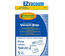 Sharp Canister Type PC-2 EC-05PC2 Vacuum Cleaner Allergen Bags