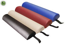 Half Bolster Pillow + Large + Spa Bed Cushion + Massage Table Bolster + 4 Colors