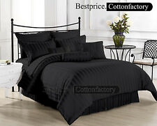 Brand New 1000TC Hotel Black Collection US Bedding Sheet's  100%Egyptian Cotton