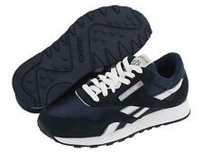 REEBOK CLASSIC NYLON Team Navy Platinum Classic Running 1-39749 Men