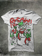 Rescyou Clothing Angry Snowman Shirt Glamour Kills Johnny Cupcakes ALL SIZES SJC