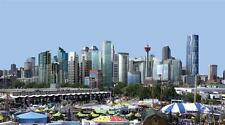 CALGARY SKYLINE GLOSSY POSTER PICTURE PHOTO canada alberta canadian stampede 632