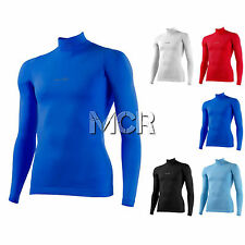 THERMAL UNDERWEAR SHIRT TURTLE NECK ALPHA - MACRON - Sizes from 4XS to 3XL