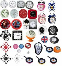 BS  CLOCKS WALL CLOCK/ALARM CLOCK/TABLE CLOCK RETRO/MODERN KITCHEN OFFICE HOME