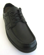 "MEN'S LEATHER LACE UP SHOES (CLARK'S LINE ACTION ""H"" FITTING)"