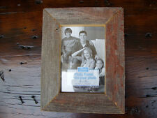 4x6 5x7 Rustic Weathered Reclaimed Barn Wood Barnwood Picture Photo Frame