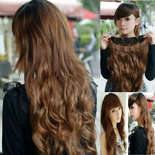 One Piece Hot Sale Long Curl/Curly/Wavy Hair Extension Clip-on 5 Colors 50-60cm
