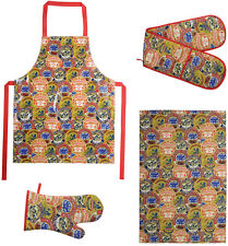 The DRH Collection Camembert Baker Gauntlet Double Oven Glove Tea Towel Or Apron