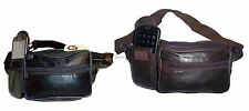 New leather waist pouch. waist bag, leather bag, Fanny pack waist pack bnwt