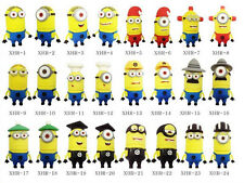 New Christmas Minions/Mario/Toy USB 2.0 Memory flash stick pen drive 48 styles