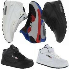 MENS RUNNING TRAINERS BOYS GYM WALKING SHOCK ABSORBING SPORTS HI TOPS SHOES SIZE