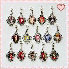 **EVER AFTER HIGH** Beautiful Glass Encased Picture Charms *BUY 2 GET 1 FREE!*