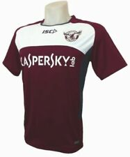 Manly Sea Eagles NRL Maroon Training Shirt 'Select Size' S-3XL BNWT4