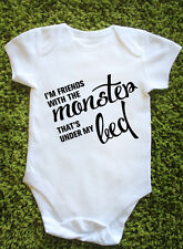 The Monster Baby Vest Grow Lyrics Eminem Rihanna Bezerk Rap Gift J0720