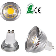 10x 5W 7W GU10 MR16 GU5.3 COB LED Spot Light Warm Cool White Lamp Bulb   Halogen