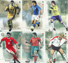 FUTERA 2004 WORLD FOOTBALL CARDS 31 - 64  BRAND NEW STRAIGHT FROM THE PACKETS