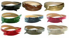 """Leather Bow Belt Women's 3/4"""" Wide 9 Colors Size S-XL USA Seller"""
