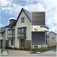 Cembrit Fibre Cement Slates   Roof Tiles   Smooth or Dressed edged   600 x 300mm
