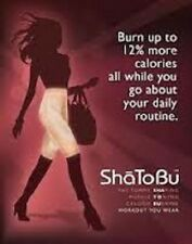 SHATOBU Calorie Burning Shaper 12700  Buff or Black Sizes S,M,L,2X Bargain Price