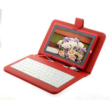 "7"" Android 4.1 16GB 1.2GHZ Capacitive Screen Wifi Dual Camera Tablet PC Keyboard"