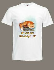 WHAT DOES THE FOX SAY T-Shirt Party NORWEGIAN DANCE MUSIC Viral Video Ylvis