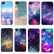 New Galaxy Space Universe Snap On Hard Case Cover Protector for iPhone 4 4S 5 5G