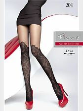 Fashion Fiore TAYA Mock hold-up Patterned  20Den Tights Europe Hosiery Pantyhose
