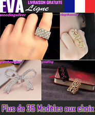 BIJOUX BAGUE FANTAISIE OR ARGENT RINGS RING JEWELRY GOLD SILVER Ringe Schmuck