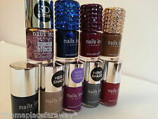 Nails Inc 10ml Crystallized caps, 3D glitter & old favourites - BN - limited