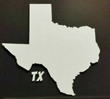 "Texas State Silhouette Vinyl decal Sticker 5 1/2 "", 8"" Inch"