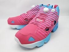 DS 2013 12 REEBOK INSTA PUMP FURY STAY REAL PINK BLUE V59962 STAYREAL
