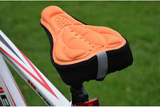 Brand New Bike Bicycle Extra Comfort Soft Gel Seat Saddle Cushion Cover Pad