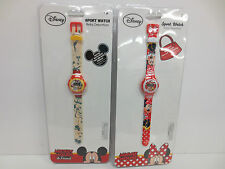 KIDS EUROSWAN DISNEY WATCHES AVAILABLE IN MICKEY AND MINNIE