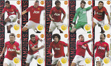 New Manchester United Panini Adrenalyn XL 2014 20 League Titles CHAMPIONS Cards