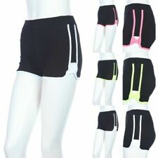 Comfy Athletic Shorts with Band Tied Bow on Side Stretch Easy Wear Casual S M L