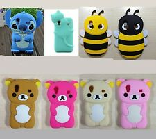 Cute 3D Cartoon character soft case cover for Samsung Galaxy Ace s5830 s5830i